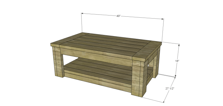 coffee table plans sam