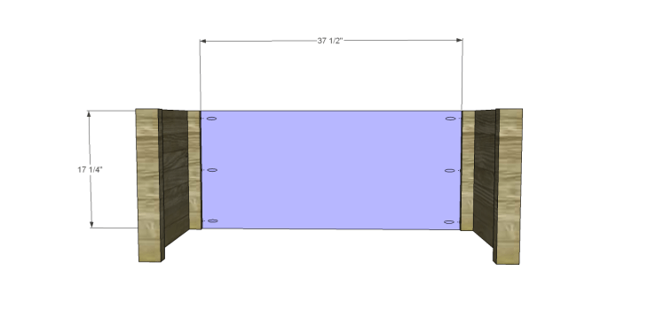 coffee table plans with drawers_Back