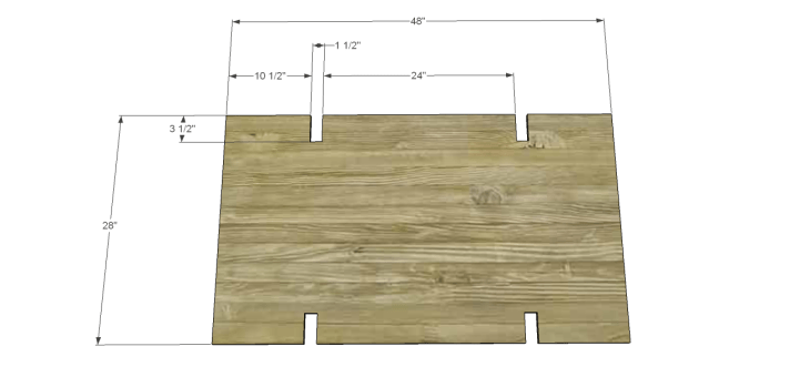 coffee table plans glass top drawers_Shelf 1