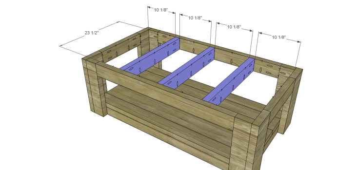 coffee table plans sam_Top Supports