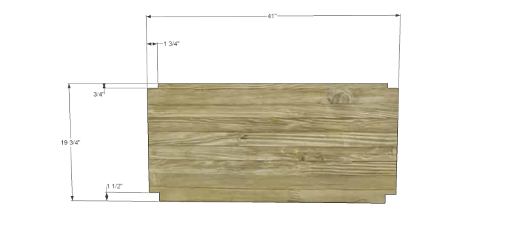 coffee table plans with drawers 1_Upper Shelf 1