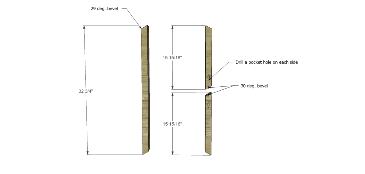 diy plans build desk_Legs 1