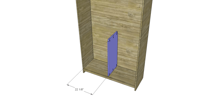 diy pantry armoire plans_Lower Divider 2
