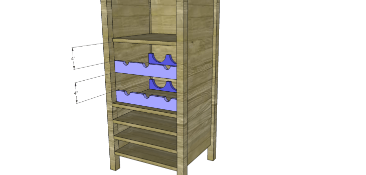 cabot wine rack plans_Cradle 2
