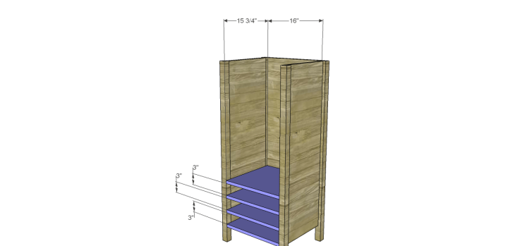 cabot wine rack plans_Lower Shelves
