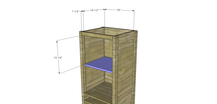 cabot wine rack plans_Upper Shelf