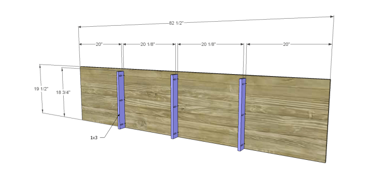 plans build large stately bookcase_Bottom