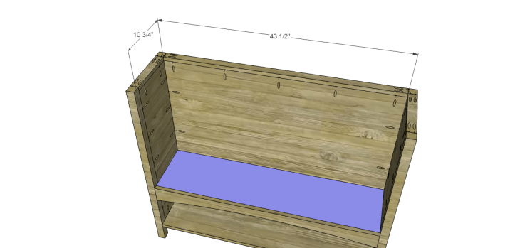 yvette console table plans_Cubby Shelf