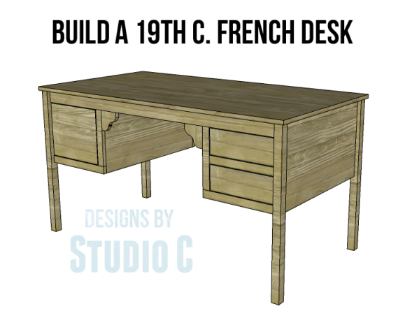vintage french desk plans_Copy