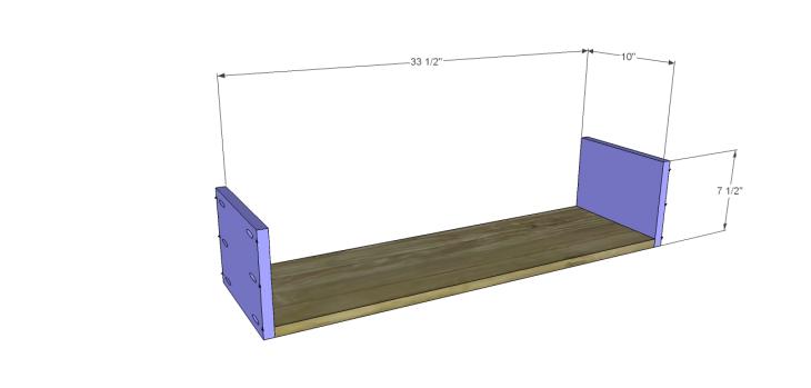 diy three-drawer dresser plans_Drawer BS