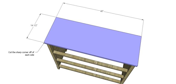 diy three-drawer dresser plans_Top