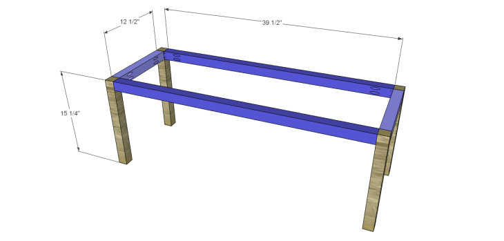 crate bench plans_Seat Frame