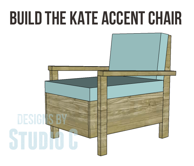 how to build accent chair from scratch