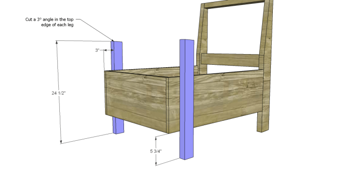 kate chair plans_Front Legs