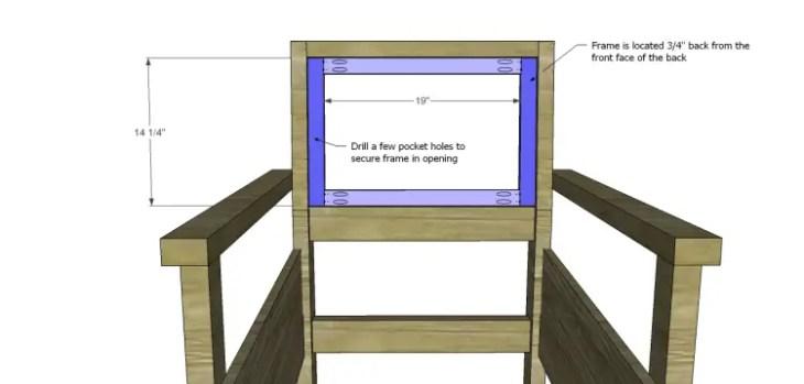kate chair plans_Upper Back Frame