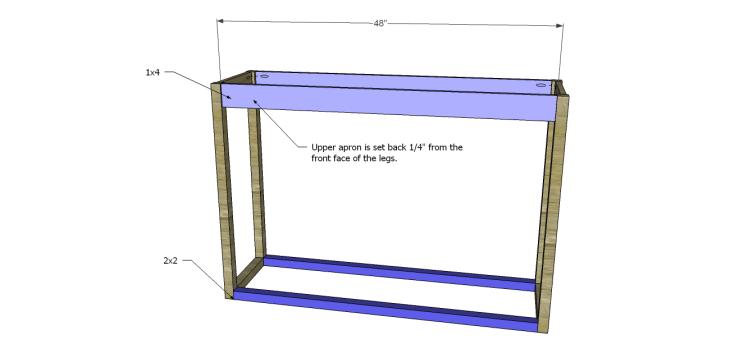 honfleur console table plans_FB Aprons