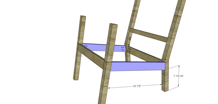 build rocking chair_Side Stretchers 2