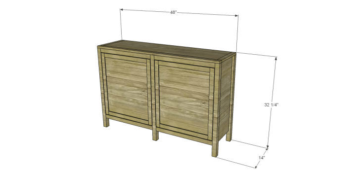 roxbury sideboard plans
