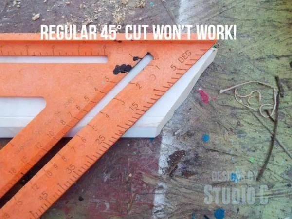 build a ledge shelf with crown molding DSCF1195