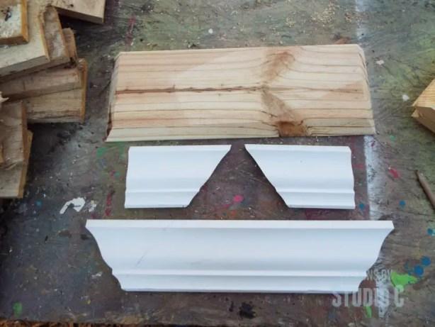 build a ledge shelf with crown molding DSCF1204