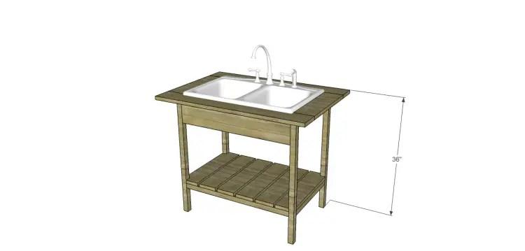 DIY Outdoor Sink |