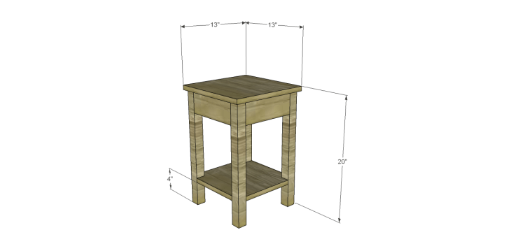 henrys side table plans