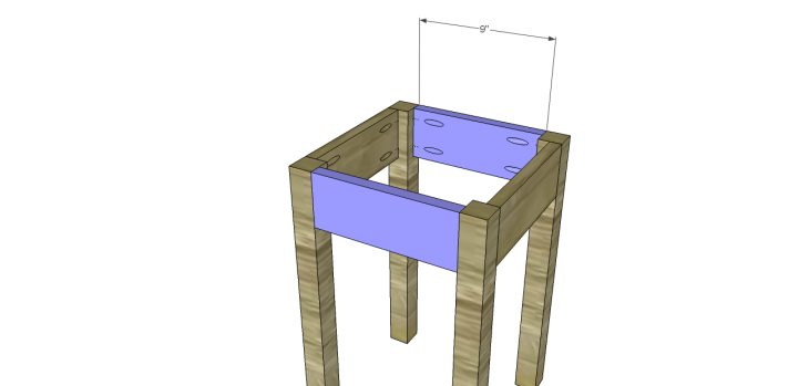 henrys side table plans_Stretchers