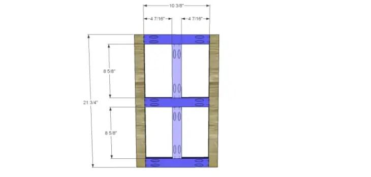 plans build ronen hutch-Doors 1
