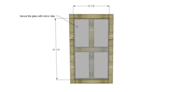 plans build ronen hutch-Doors 2