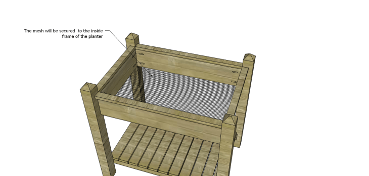 alicia planter box plans-Mesh