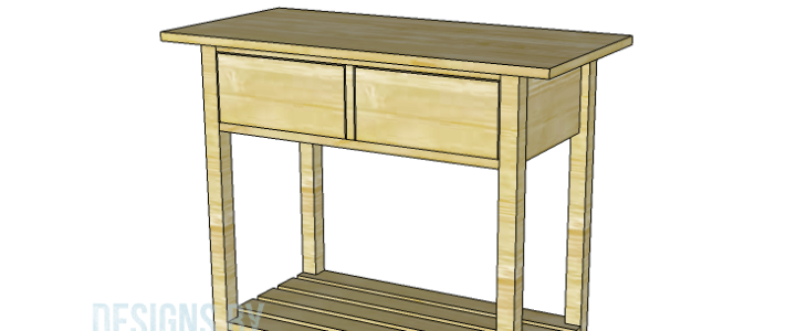 Build The Cooper End Table - Cooper end table