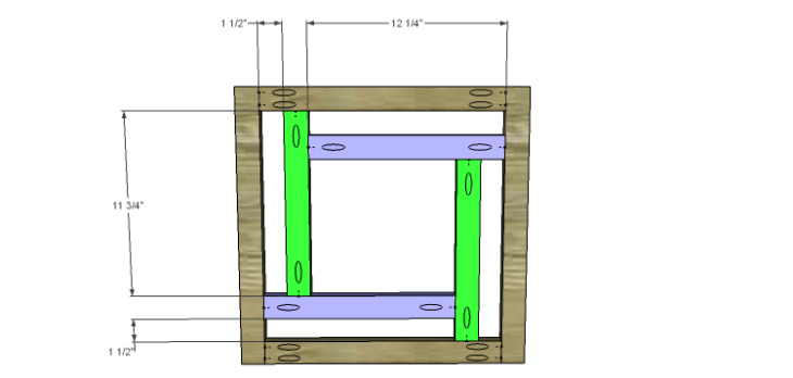 DIY Plans to Build the Haiku Cabinet-Doors Panel 1