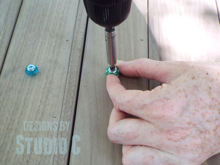 How to Make Small Drawer Knobs with Beads DSCF1496