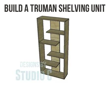 Truman Shelving Unit Plans-Copy