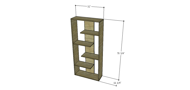 Build a truman shelving unit for Storage unit plans