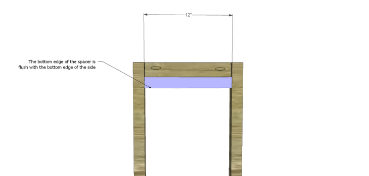 Plans to Build a Space Saving Table and Stools-Spacer