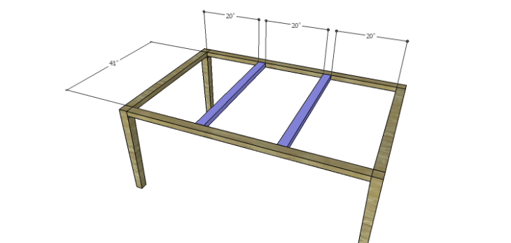Plans to Build a Luna Dining Table-Supports