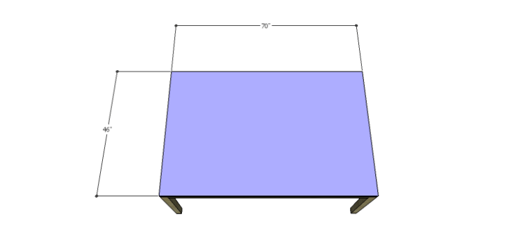 Plans to Build a Luna Dining Table-Top