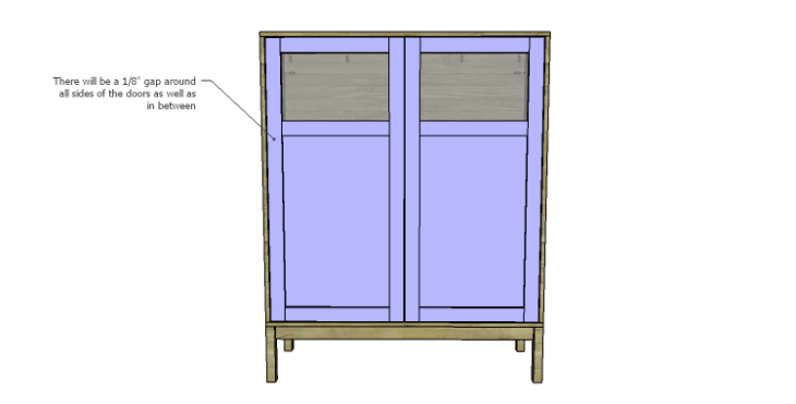 DIY Vintage Pantry Cabinet Plans-Doors 3