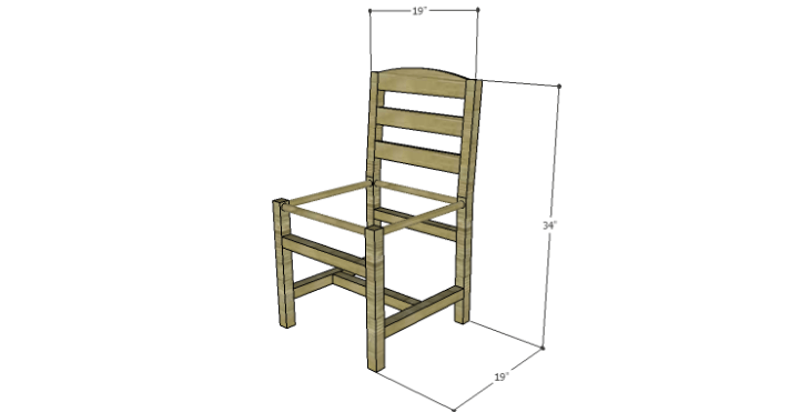 DIY Plans to Build a Splint Seat Chair
