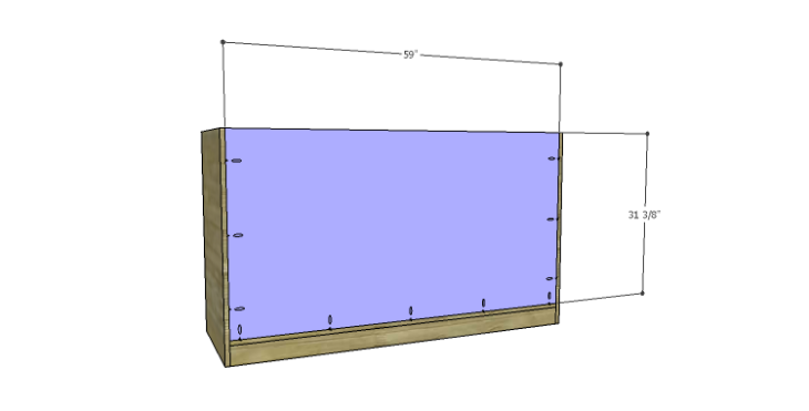 DIY Plans to Build a Kemper Media Console-Back