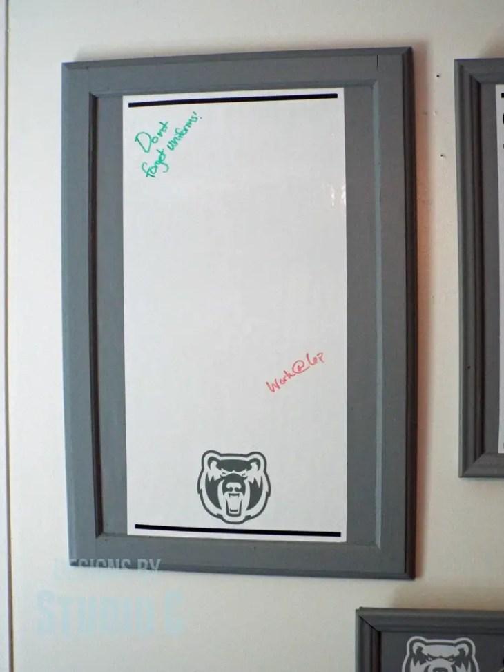 cabinet door memo board DSCF1845