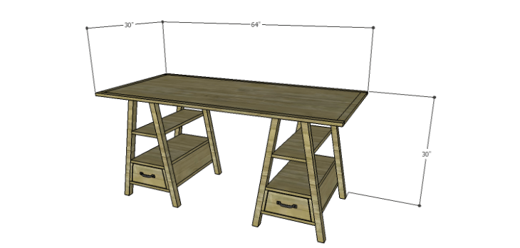 DIY Landon Desk Plans