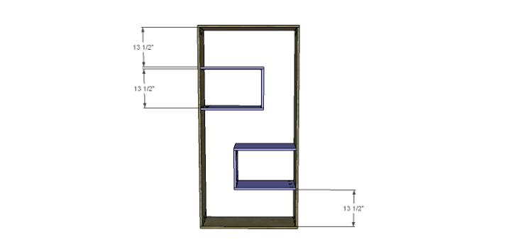 DIY Plans to Build a Massima Bookcase_Cubbies 2
