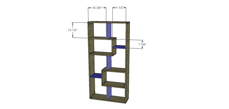 DIY Plans to Build a Massima Bookcase_Dividers