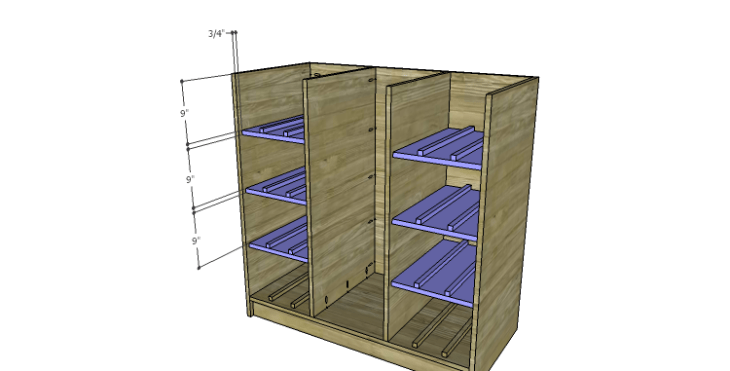 DIY Plans to Build a Howell Bar Cabinet_Shelves 3