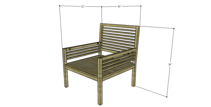 DIY Plans to Build the Java Chair