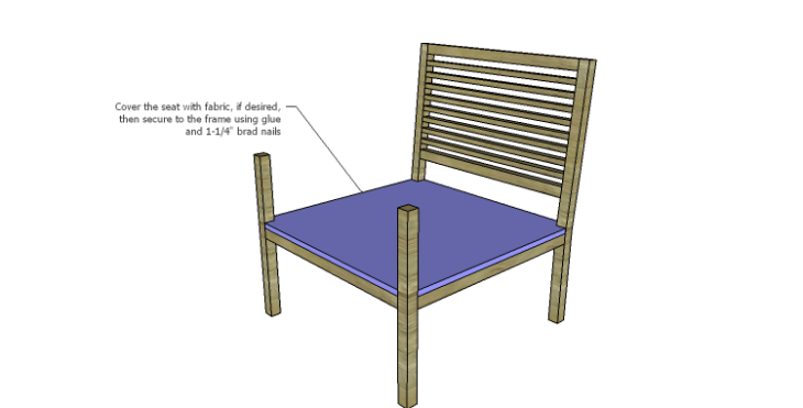 DIY Plans to Build the Java Chair_Seat 2