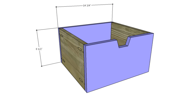 Plans to Build a Drake Chest_Middle Center Drawer FB