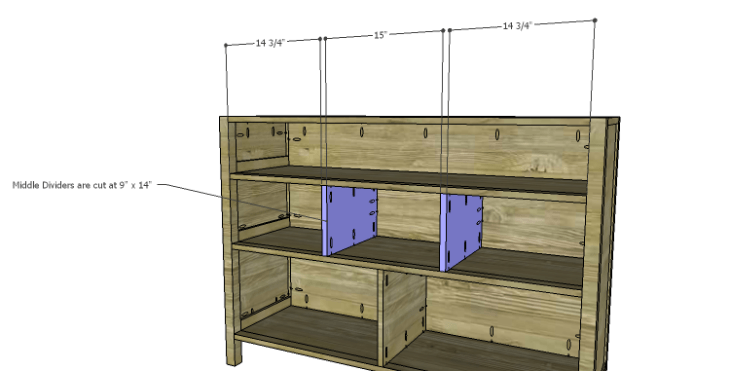 Plans to Build a Drake Chest_Middle Dividers